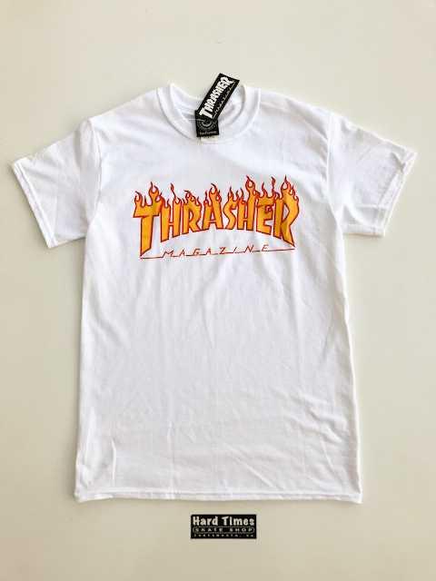 Thrasher Flame Logo Tee