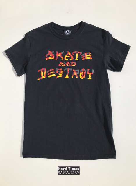 Thrasher Skate and Destroy BBQ Tee