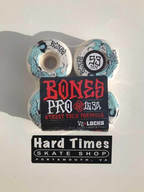 Bones Wheels Pro STF Decenzo Mermaid