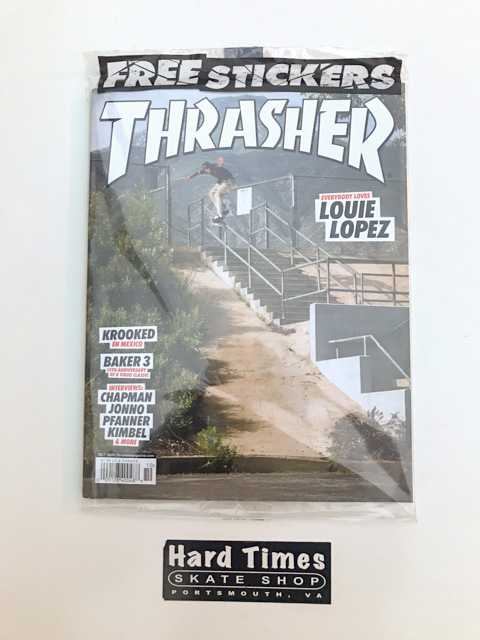Thrasher Magazine October 2020