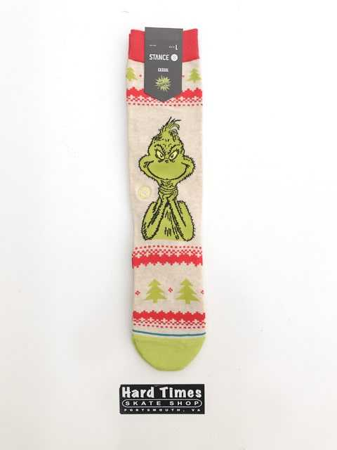 Stance Grinch Sweater